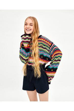 Zara PAPER BAG BERMUDA