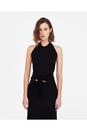 Zara Dames Haltertops - HALTERTOP MINIMAL COLLECTION