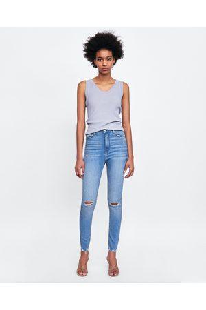 Zara JEANS HIGH WAIST VENICE BLUE