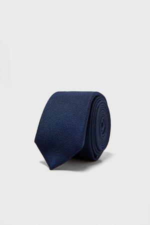Zara Heren Stropdassen - Smalle stropdas met structuur