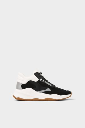 Zara Tops & Shirts - HIGH-TOP BASKETBAL SNEAKERS