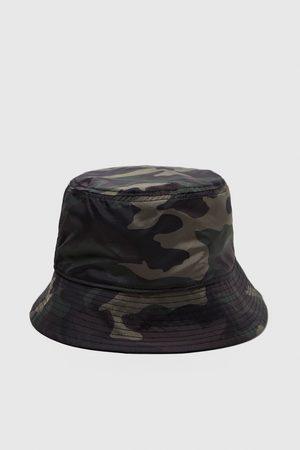 Zara CAMOUFLAGE RAIN HAT