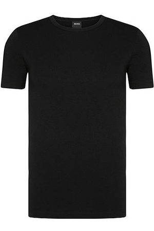 HUGO BOSS Set van twee slim-fit T-shirts van stretchkatoen