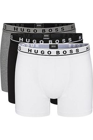 HUGO BOSS Heren Outfit sets - Set van drie boxerslips van stretchkatoen