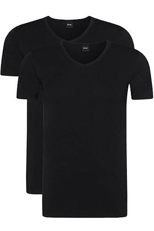 HUGO BOSS Heren Tops & Shirts - Set van twee slim-fit underwear T-shirts