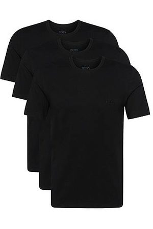HUGO BOSS Heren Tops & Shirts - Set van drie regular-fit T-shirts van katoen