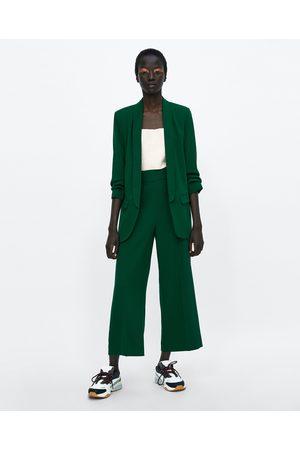 Zara Dames Pantalons - Broek met hoge taille
