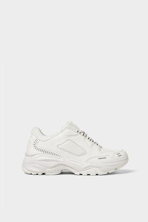 Zara Sneakers met extra dikke zool