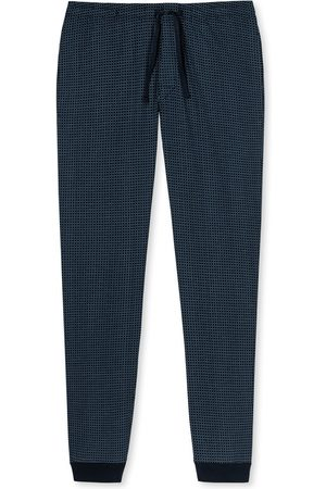 Schiesser Mix & Relax pyjamabroek navy ruit