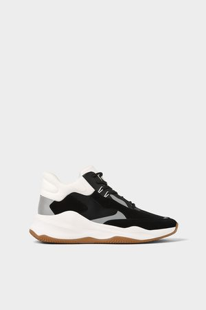 Zara HIGH-TOP BASKETBAL SNEAKERS
