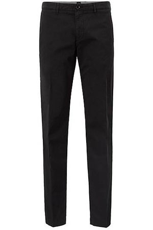 HUGO BOSS Regular-fit chino in een stretchkatoenen twill