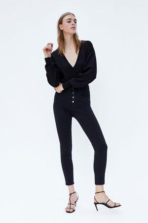 Zara TRICOT BODY MET GEMETALLISEERD GAREN
