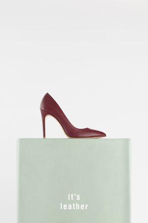 Zara Dames Pumps - LEREN PUMPS MET HAK