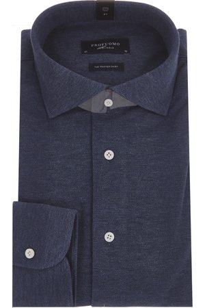 Profuomo Heren Shirts - SHIRT CUTAWAY SF SC INDIGO