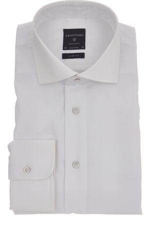 Profuomo Heren Shirts - SHIRT CUTAWAY SF SC WHITE
