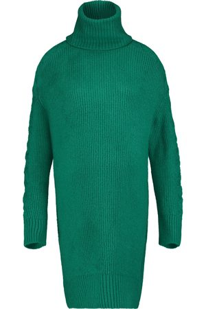 Supermom Dames Gebreide jurken - Jurk Knit Green