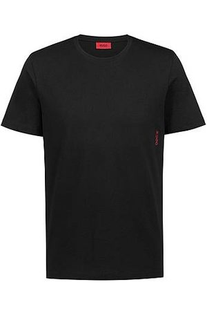 HUGO BOSS Heren Tops & Shirts - Two cotton loungewear T-shirts with vertical logo
