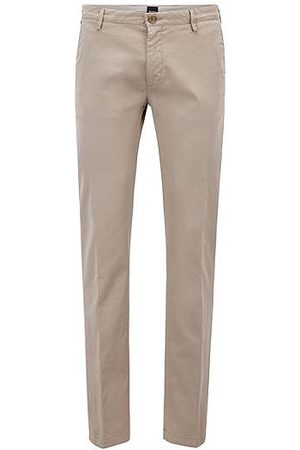 HUGO BOSS Slim-fit chino in een stretchtwill