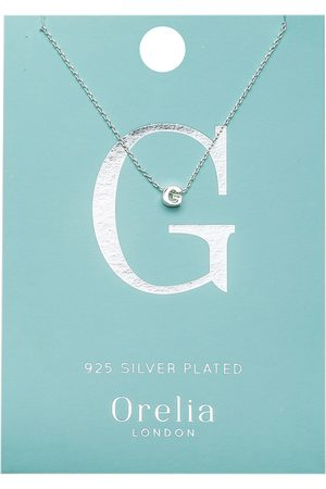 Orelia Kettingen-Necklace Initial G