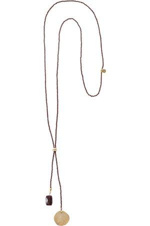 A Beautiful Story Kettingen-Fairy Garnet Dragonfly Gold Necklace