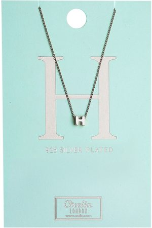 Orelia Kettingen-Necklace Initial H