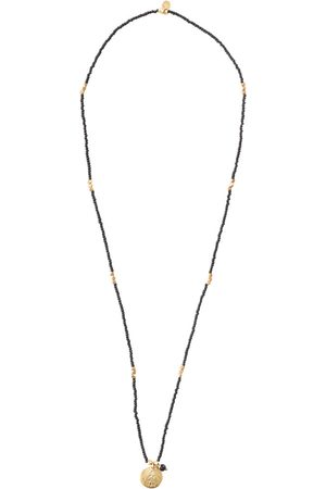 A Beautiful Story Kettingen-Fall Black Onyx Buddha Gold Necklace