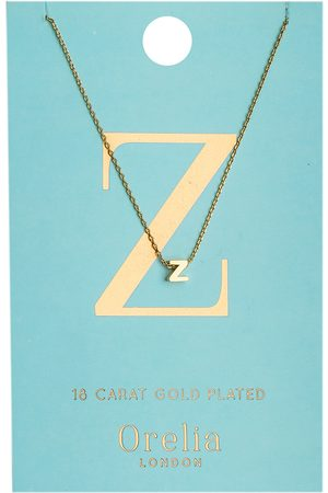 Orelia Kettingen-Necklace Initial Z
