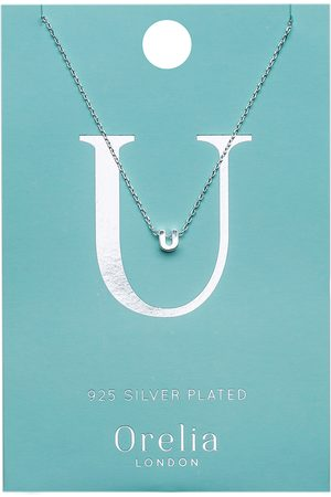 Orelia Kettingen-Necklace Initial U