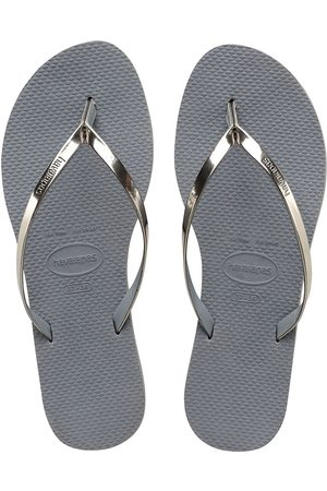 Havaianas Slippers-Flip Flops You Metallic