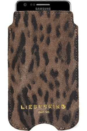 liebeskind Smartphone covers-Suede Lux Galaxy S4 Cover-Taupe