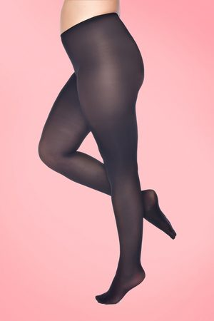 Pamela Mann Curvy Super Stretch Tights in Black