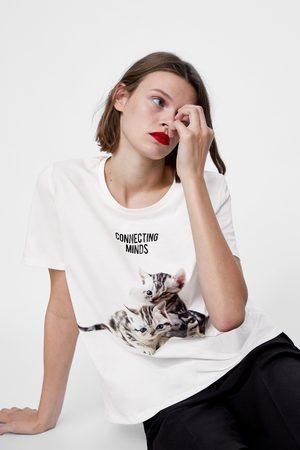 Zara T-SHIRT MET PRINT