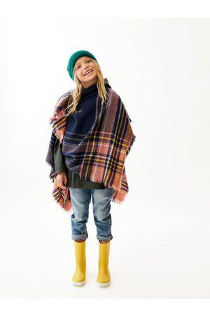 Zara PONCHO MET RUITEN