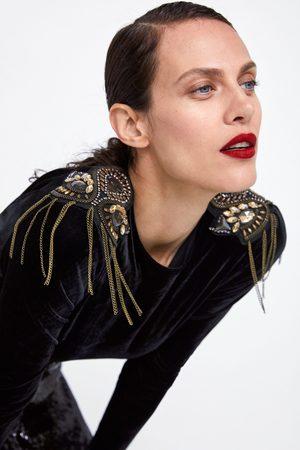 Zara BODY MET FLUWEELEFFECT
