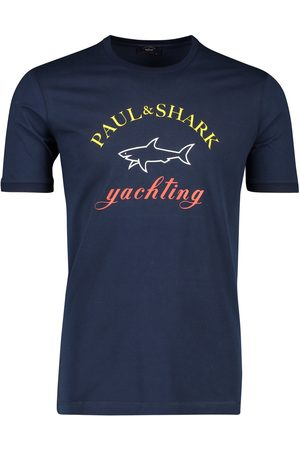 Paul & Shark T-shirt logo ronde hals