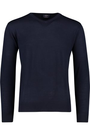 Paul & Shark Trui v-hals merino navy