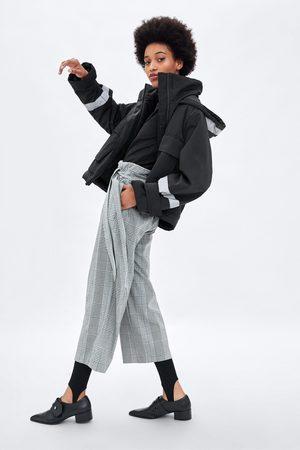 Zara GERUITE BROEK IN CROPPED MODEL