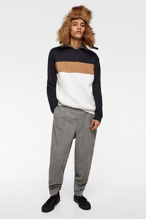 Zara Sweatshirt met kleurblokken