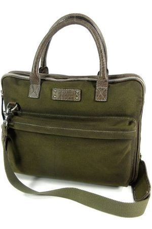 BARBAROSSA Laptop- & Businesstassen - CANVASCO business 15,6 inch laptoptas Military
