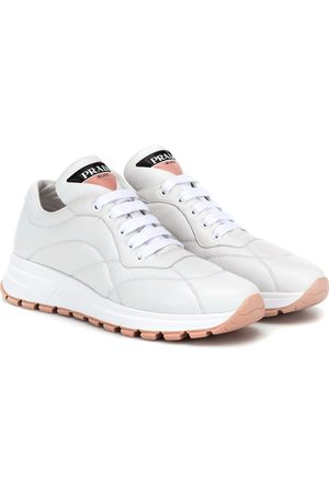 Prada PRAX-01 leather sneakers