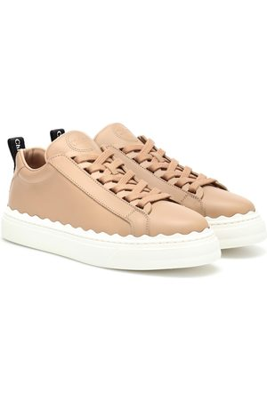 Chloé Dames Sneakers - Lauren leather sneakers