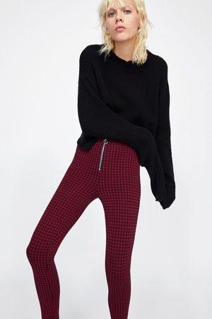 Zara GERUITE LEGGING MET RITS