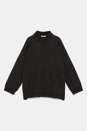 Zara Poloshirts - POLOSHIRT VAN METAALGAREN