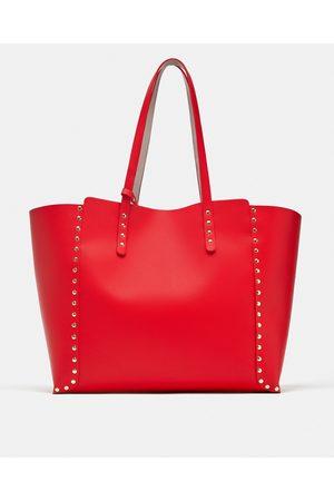 Zara Shoppers - OMKEERBARE SHOPPER MET STUDS