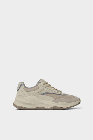 Zara Sneakers met brede zool