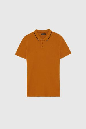 Zara RIBPOLO IN MUSCLE FIT