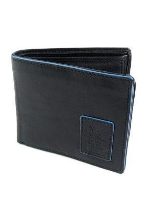 GAZ Heren Portemonnees - Leren heren Bilfold RFID blocking portemonnee laag zwar