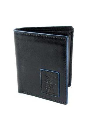 GAZ Heren Portemonnees - Compacte heren Bilfold RFID blocking portemonnee hoog zwart