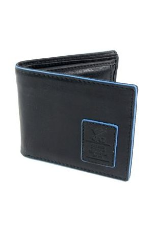 28055fd550a Compacte heren Bilfold RFID blocking portemonnee laag zwart