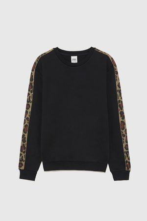 Zara Sweatshirt met dierenprint